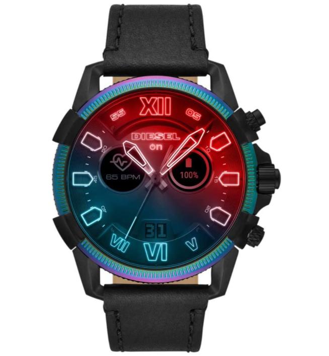 Diesel DZT2013 Herrenuhr Smartwatch 48mm 5 ATM