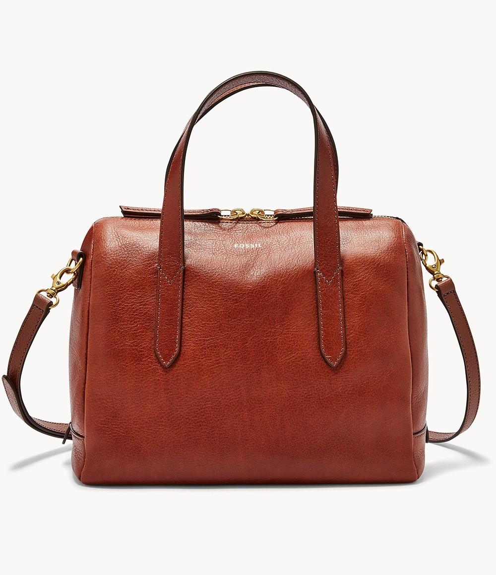Fossil Leder Handtasche Sydney Satchel
