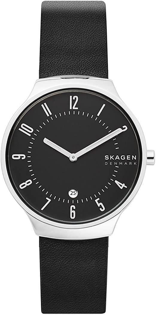 Skagen Herrenuhr SKW6459 Grenen Leder