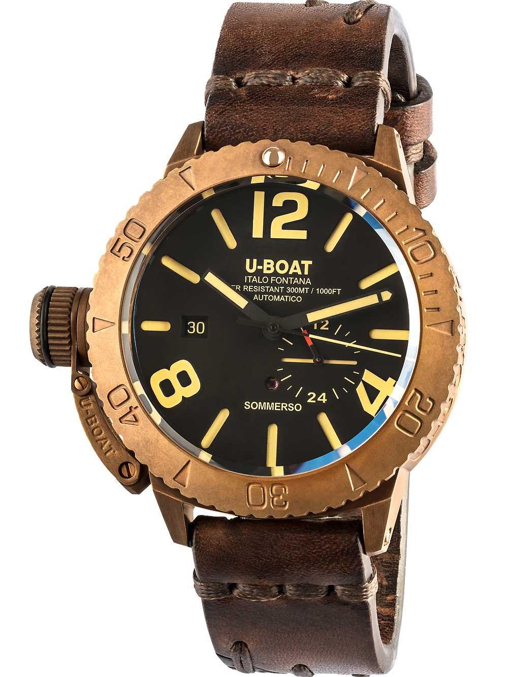 U-Boat 8486 Sommerso Bronze Automatik 46mm