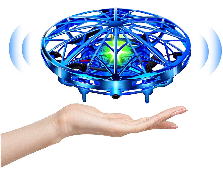 UTTORA UFO Mini Drohne,Drohne Für kinder Kinder Spielzeug Handsensor Quadcopter Infrarot-Induktion