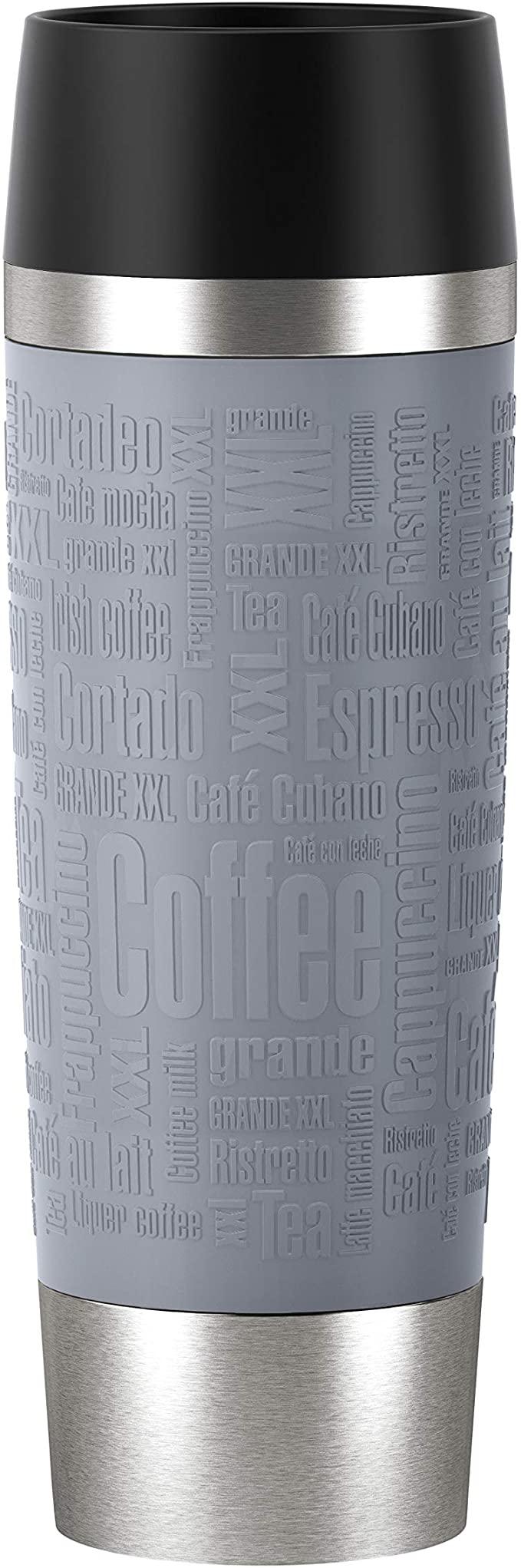 Emsa N2013100 Travel Mug Thermo-/Isolierbecher aus Edelstahl
