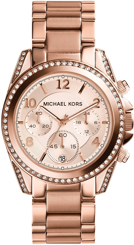 Michael Kors Damen Analog Quarz Uhr Rose MK5263