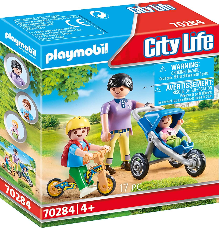 Playmobil Figures 70284 Mama mit Kindern, ab 4 Jahren