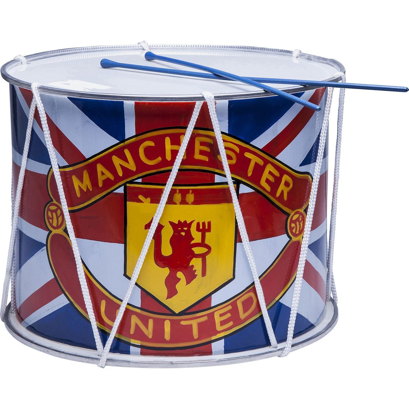 Kare Deko Trommel Musica Manchester United 35